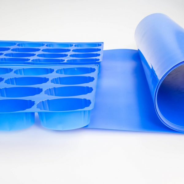 Blue Packaging Container