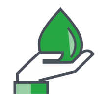 hand droplet icon